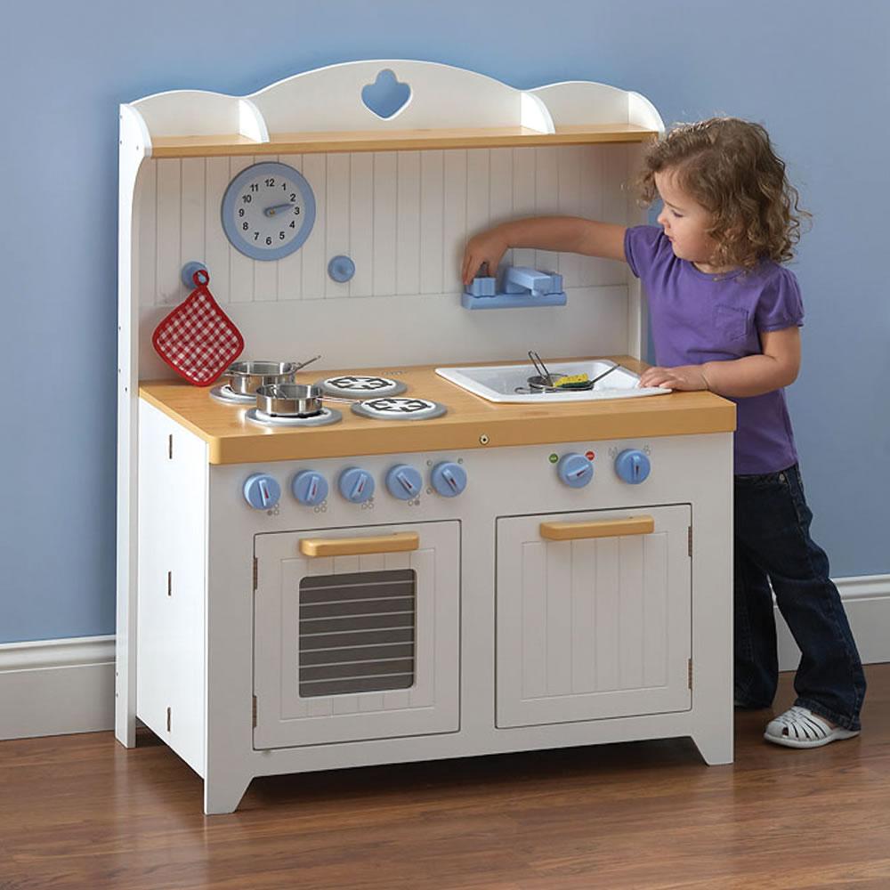 The Young Chefu0027s Foldaway Kitchen Playset