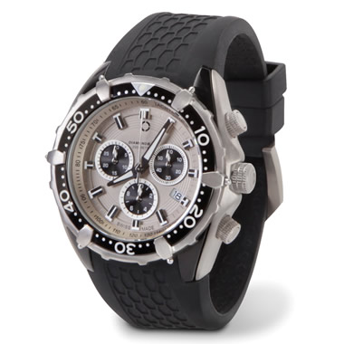 The Swiss Titanium Alloy Chronograph