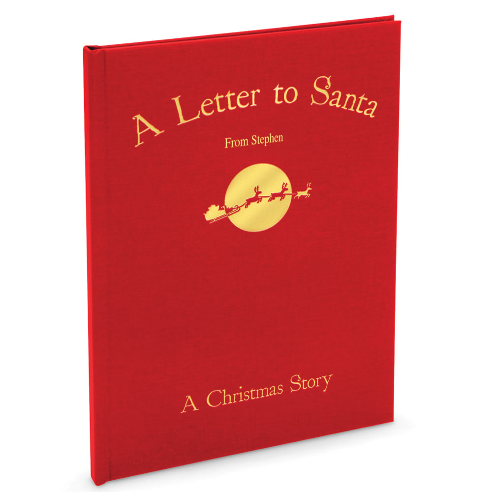 Santa's Personalized Christmas Book - Front cover