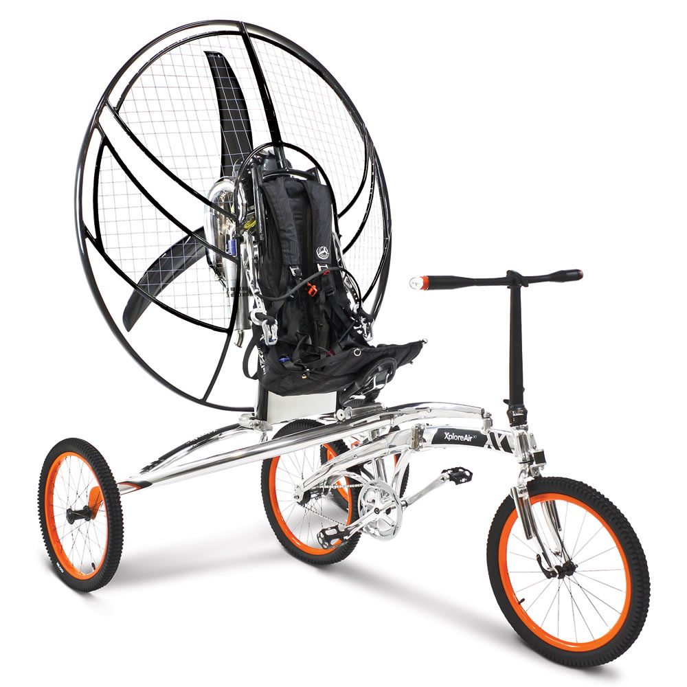 the first flying bicycle hammacher schlemmer