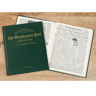 The Original Korean War Articles Of The Washington Post - Cover and interior page