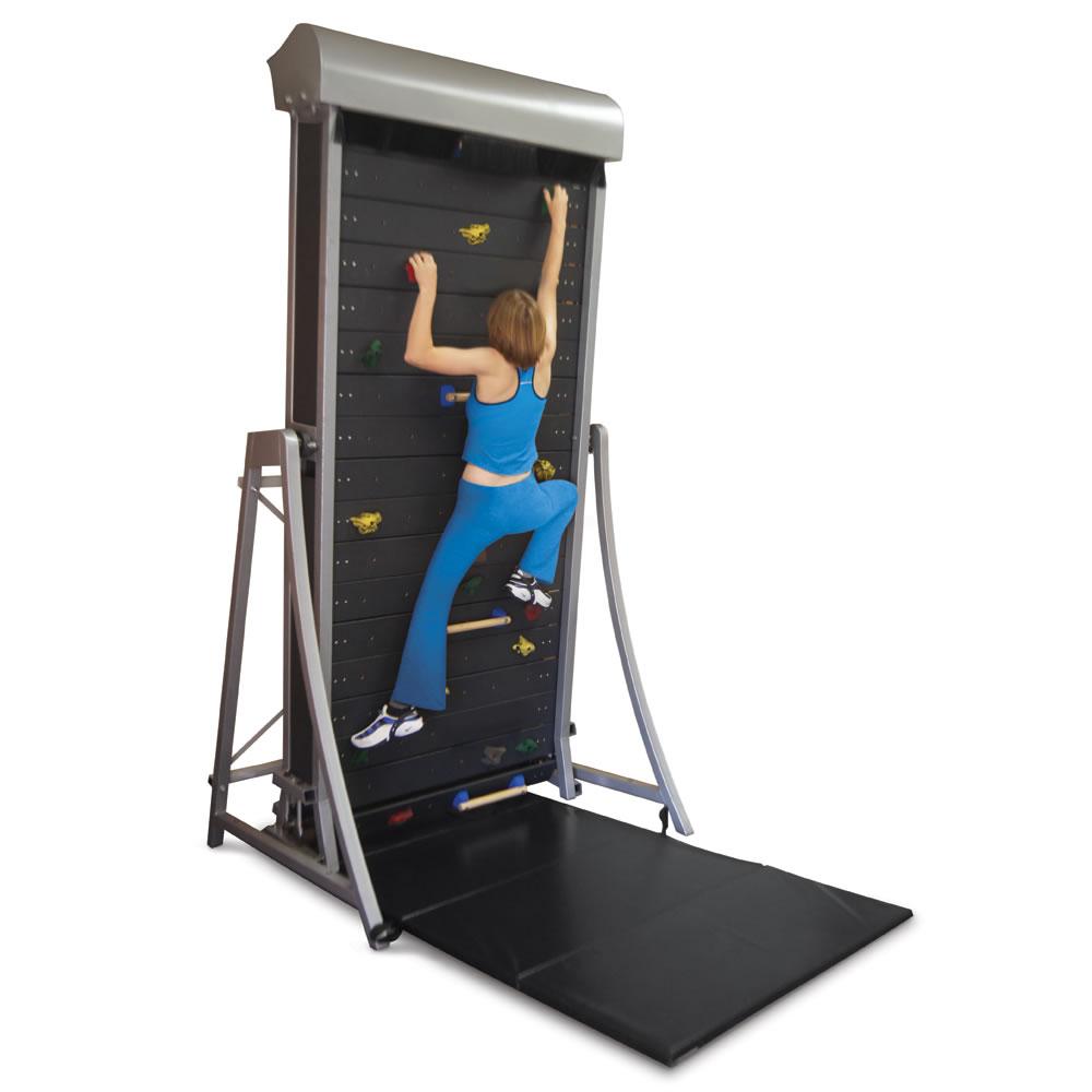 The Climbing Wall Treadmill - Hammacher Schlemmer