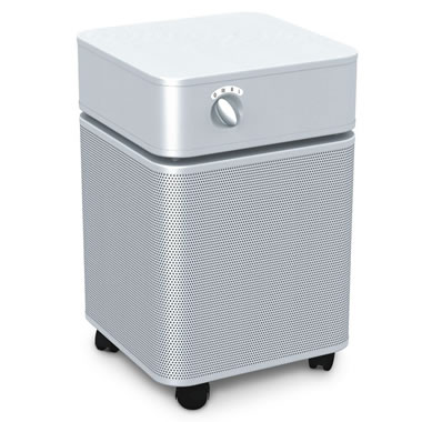 The Bedroom Air Purifier - Shown in silver