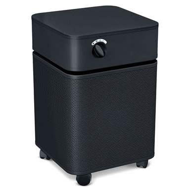 The Pet Allergen Removing Air Purifier - Shown in black