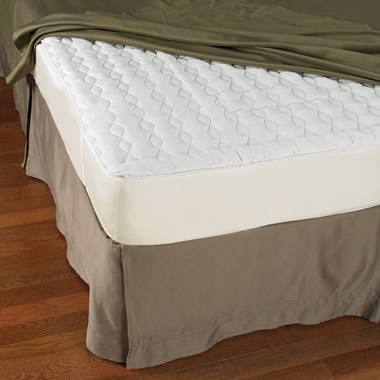 The Continuously Cooling Mattress Pad