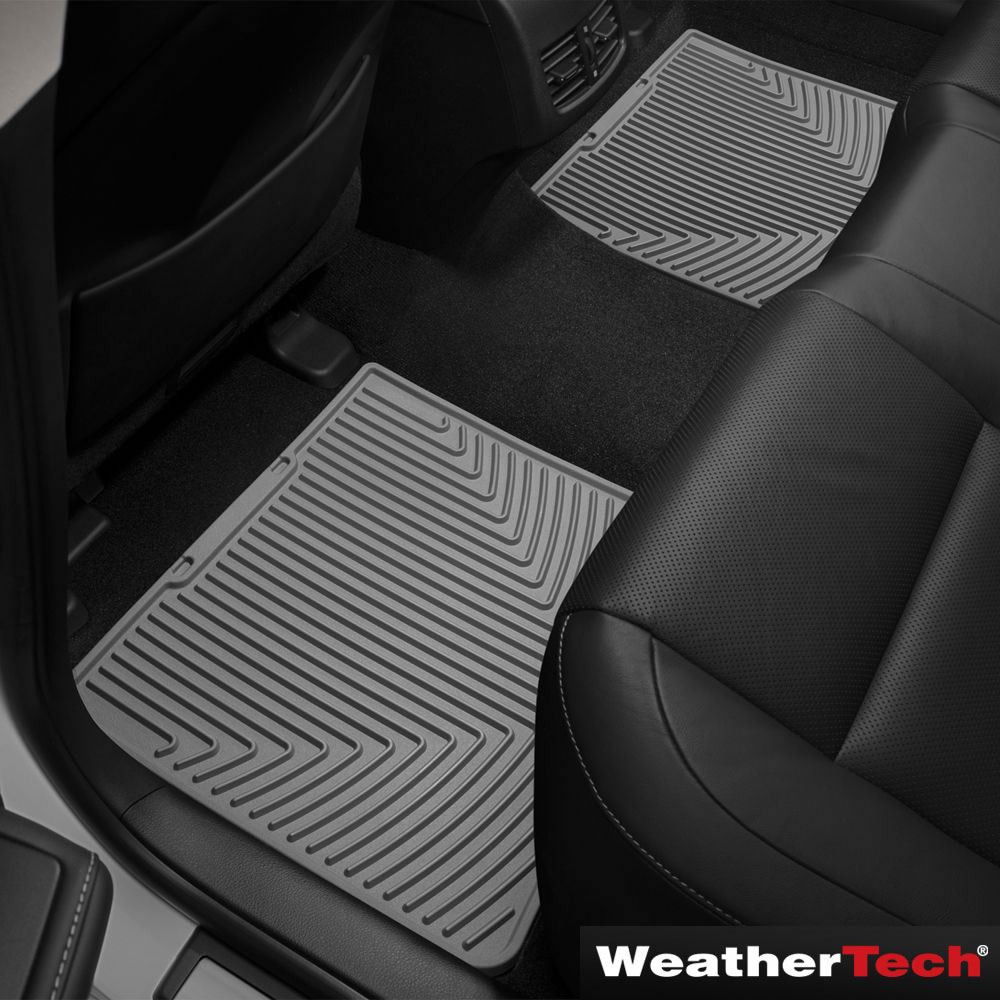the weathertech laser fit auto floor mats front and back rh hammacher com 2005 Acura TL Floor Mats Original 2005 Acura TL Floor Mats Original