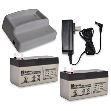 Rechargeable Battery for The Automatic Electronic Pet Door.