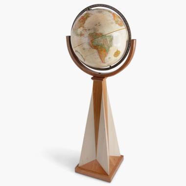 The Frank Lloyd Wright Obelisk Floor Globe