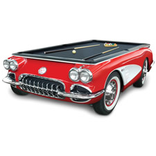 The 1959 Corvette Billiards Table