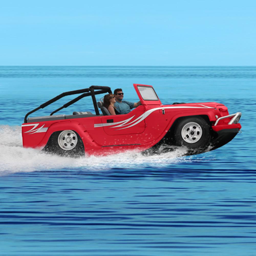 The World\'s Fastest Amphibious Car - Hammacher Schlemmer
