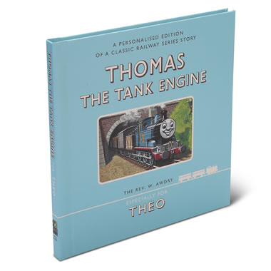 The Personalized Thomas The Tank Book