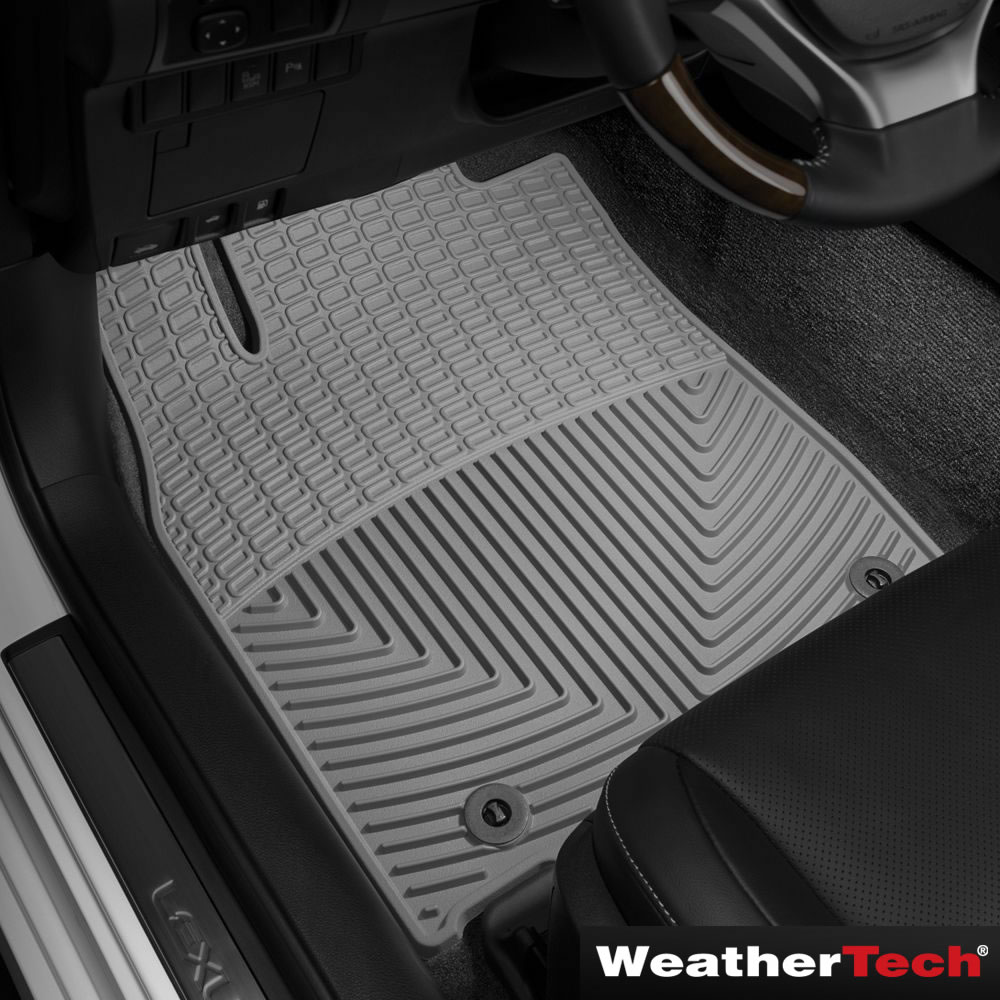 The Weathertech Custom Fit Auto Floor Mats Front