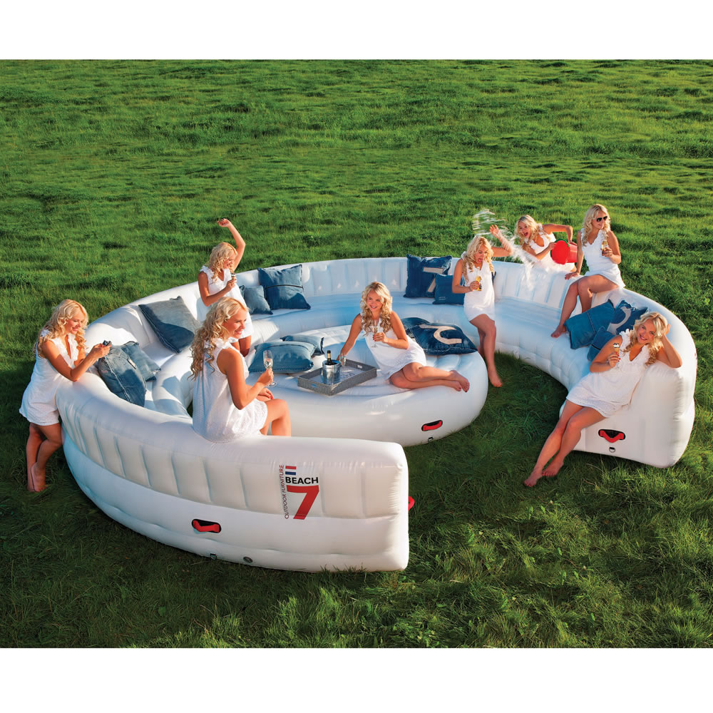 inflatable garden furniture. The Instant Summer Event Sofa Inflatable Garden Furniture N