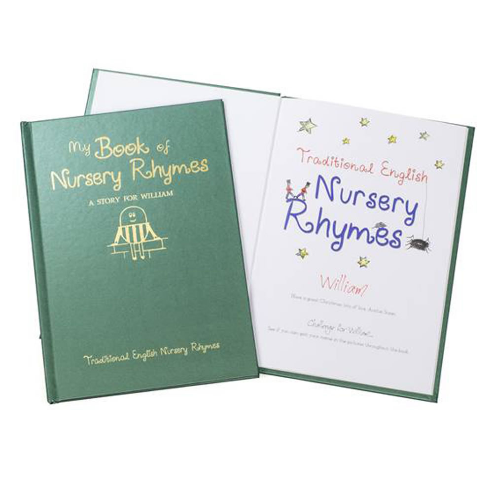 The Personalized Book Of Nursery Rhymes