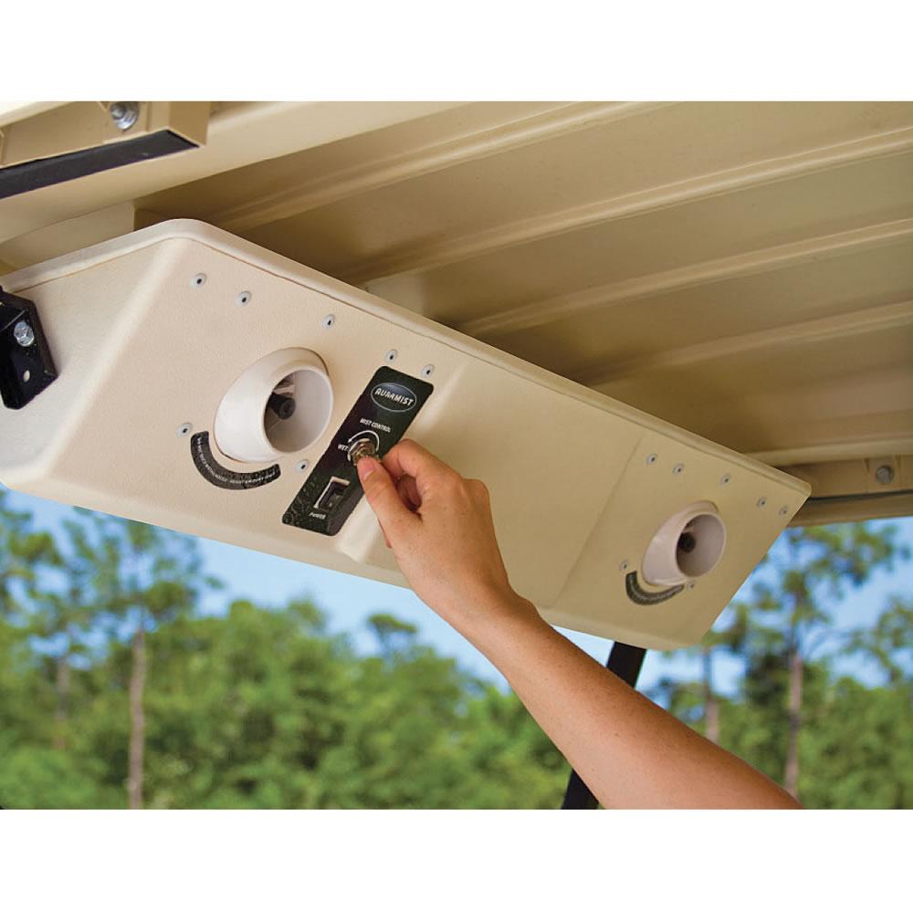 The Golf Cart Cooling System Hammacher Schlemmer