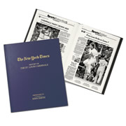 """This is the personalized book of New York Times articles that chronicles the exploits of a fan's favorite Major League Baseball team. Procured from the archives of The Times, each book presents memorable highlights that span from your selected MLB team's formative years to today. Baseball fans can revisit their beloved ballclub's celebrated games and star players from the """"Gray Lady's"""" unique perspective, from the """"Murderer's Row"""" of Ruth and Gehrig's New York Yankees, to New York's National League club, which began as a punchline but became the Amazing Mets, to the Chicago Cubs who went 108 years between World Series victories. Each historical page is reprinted to show timel"""