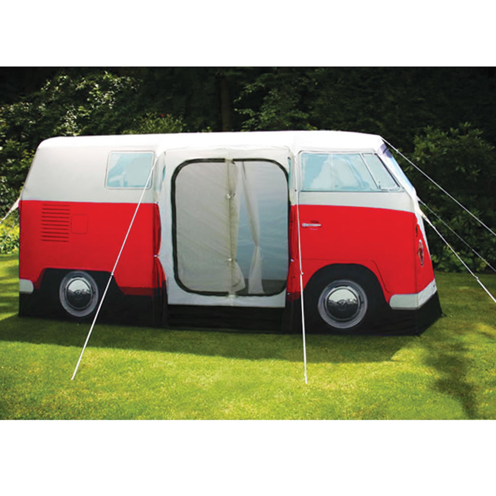 The VW Bus Tent  sc 1 st  Hammacher Schlemmer & The VW Bus Tent - Hammacher Schlemmer