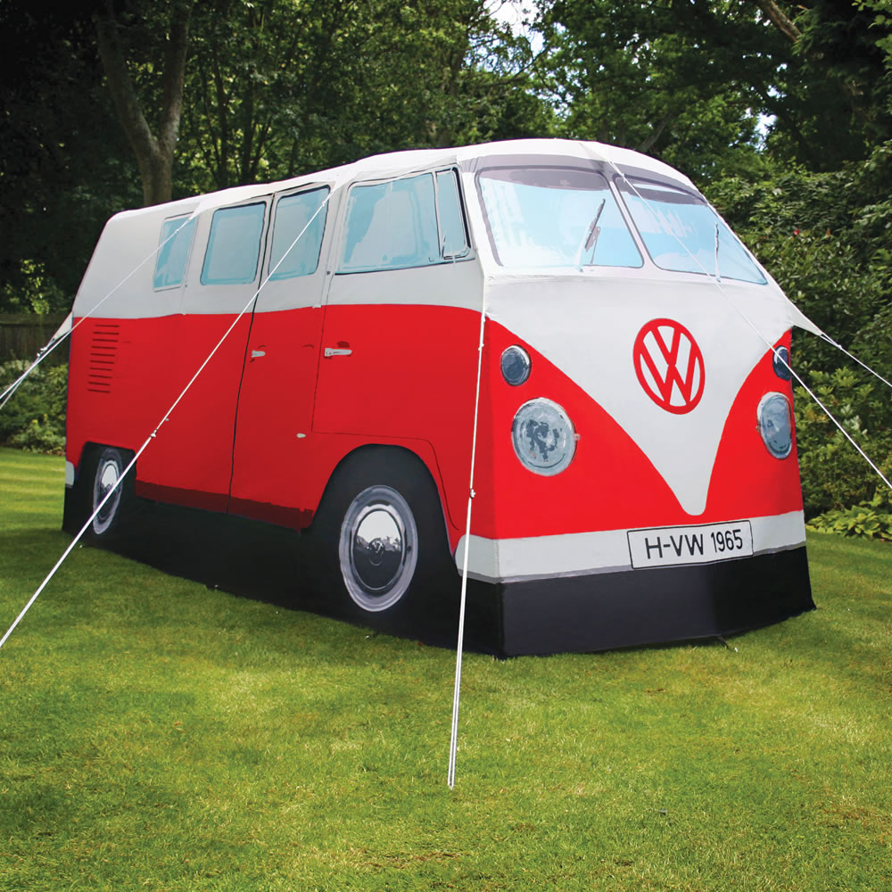 The VW Bus Tent & The VW Bus Tent - Hammacher Schlemmer