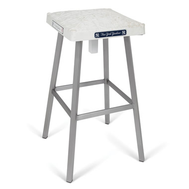 The Game Used Base Bar Stool