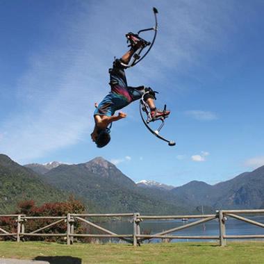 The 10 Foot High Jumping Stilts