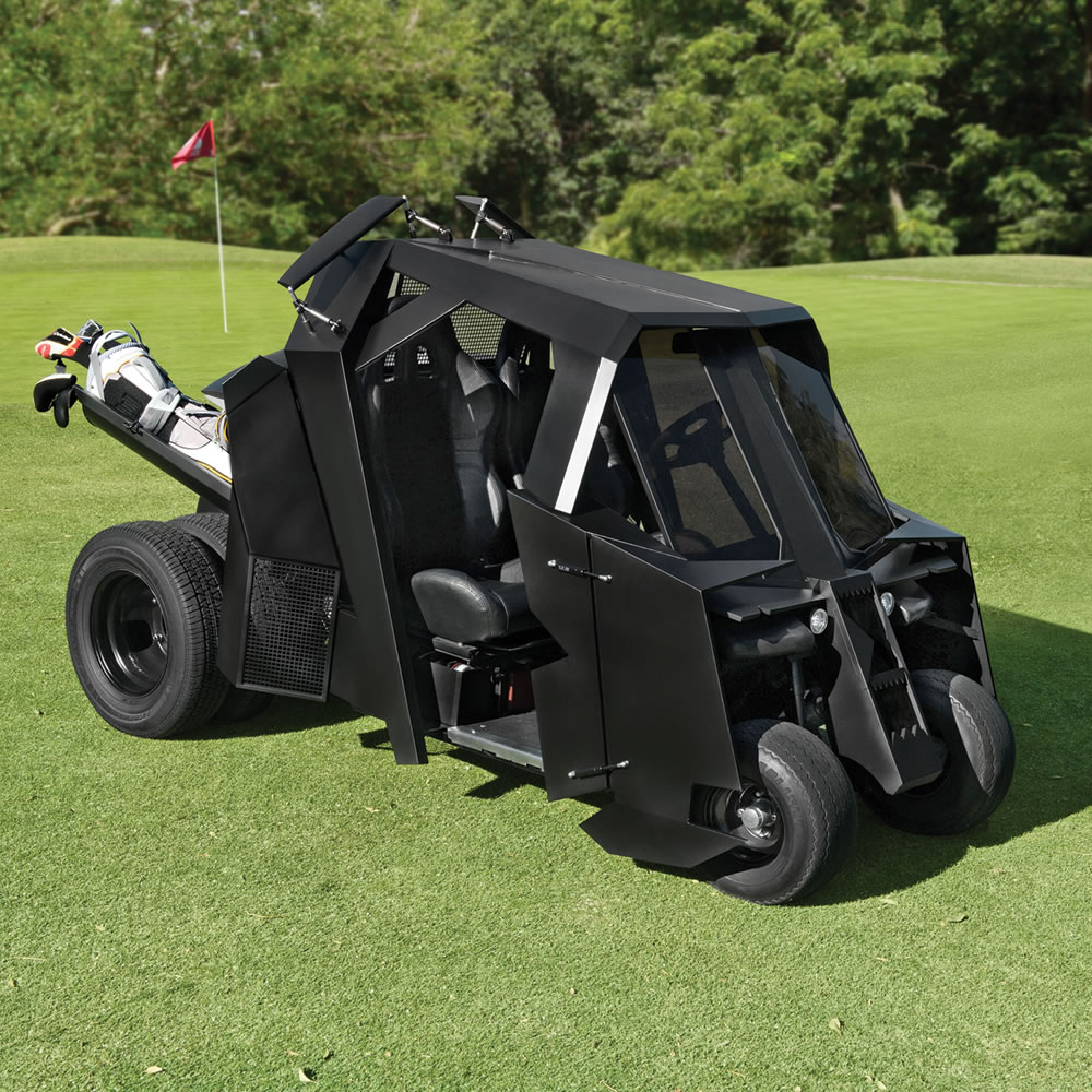 The Gotham Golfcart - Hammacher Schlemmer on how to build gundam, how to build beyblades, how to build ghostbusters,