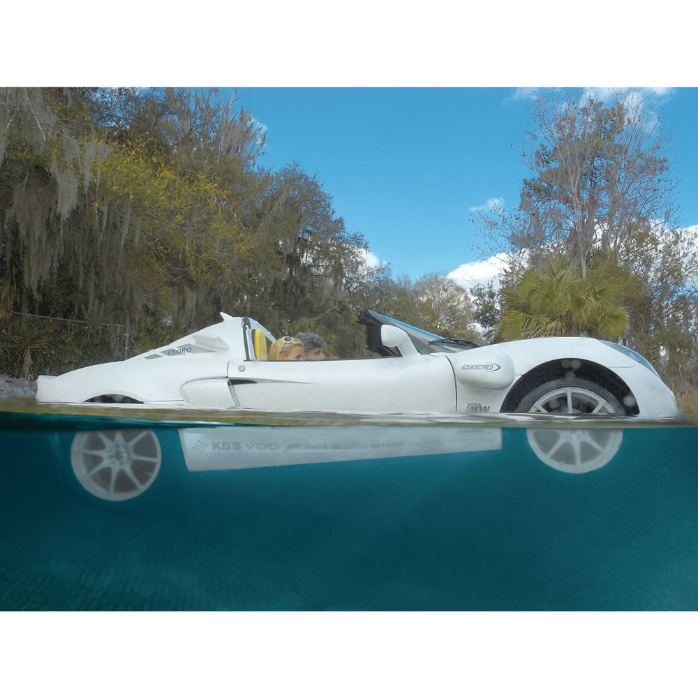 The Submarine Sports Car Hammacher Schlemmer