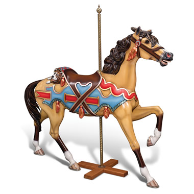 The Genuine 1902 E. Joy Morris Carousel Horse