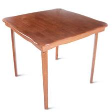 The Classic Folding Bridge Table (Cherry Finish)