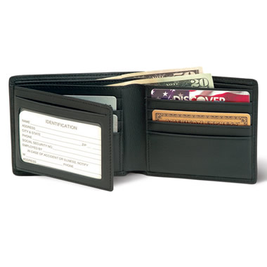 The Identity Theft Preventing Leather Wallet