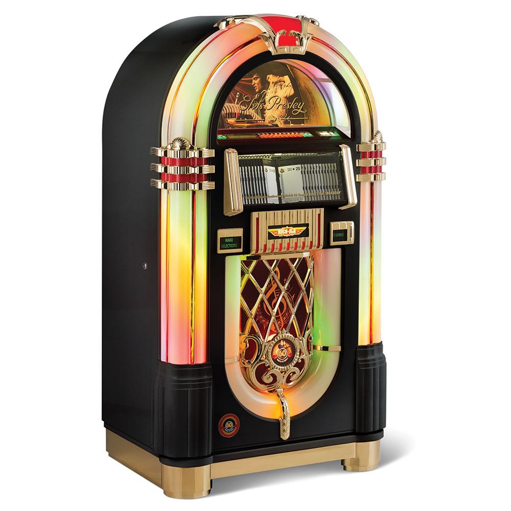 Toys For Infants >> The King Of Rock Jukebox - Hammacher Schlemmer