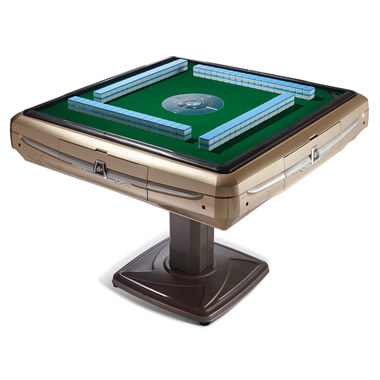 The Automatic Tile Shuffling Mahjong Table.