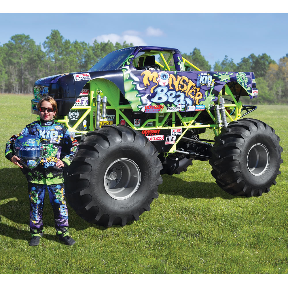 The Mini Monster Truck Hammacher Schlemmer
