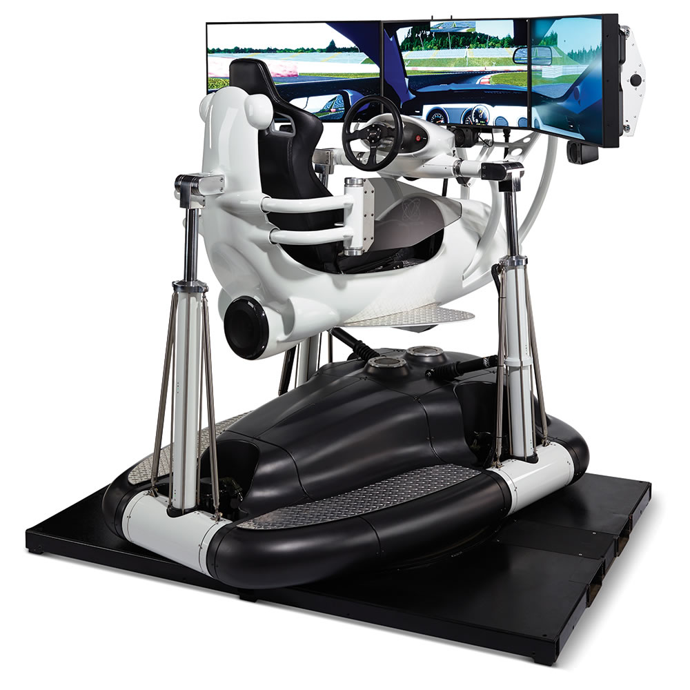 The Most Realistic Racing Simulator Hammacher Schlemmer