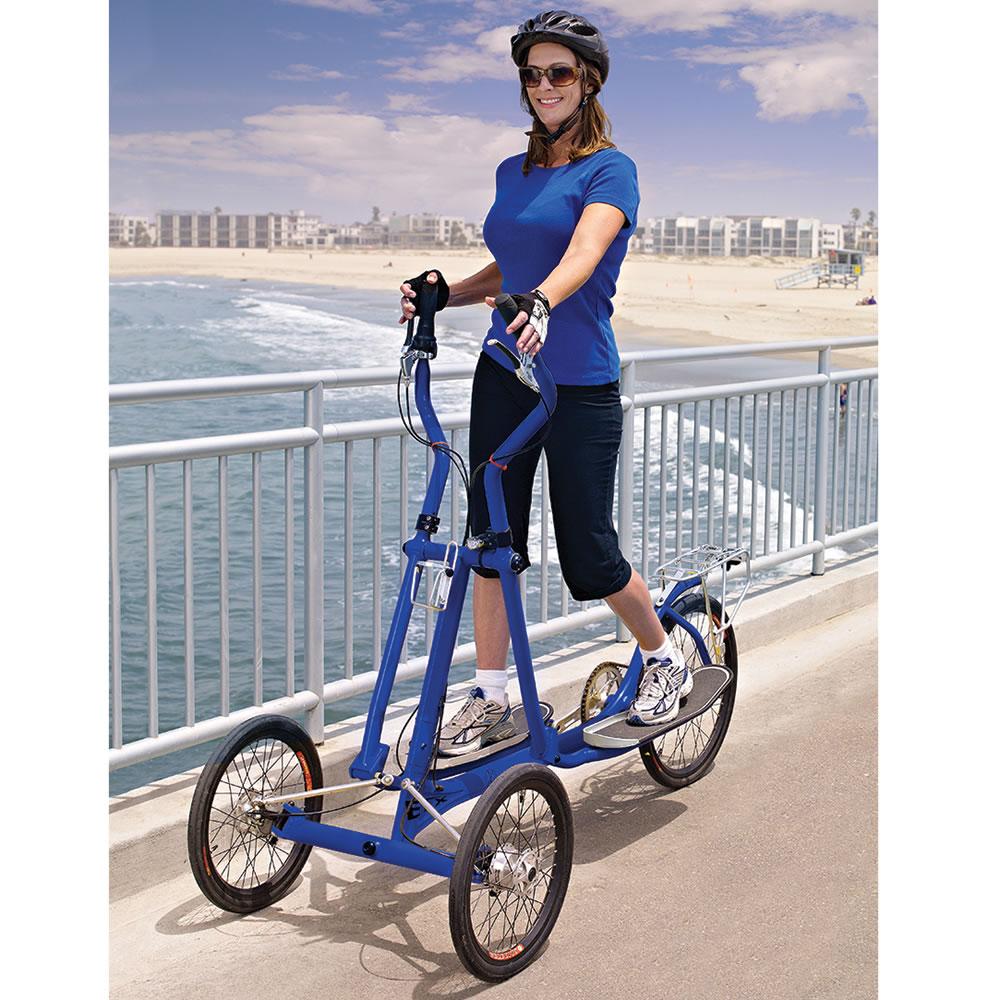 The Elliptical Bicycle Hammacher Schlemmer