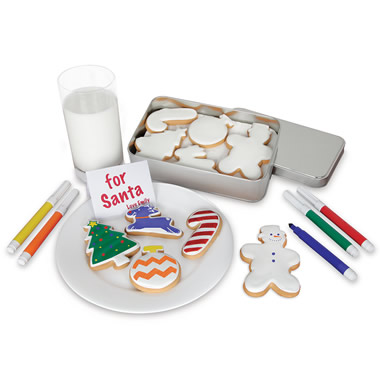 The Christmas Cookie Coloring Kit