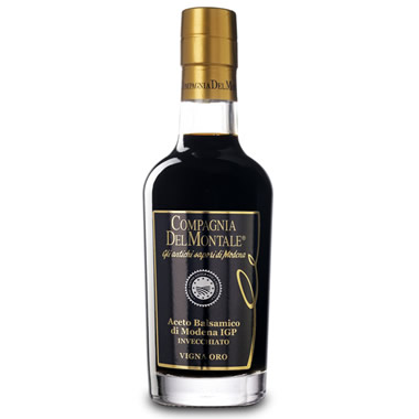 The Award Winning Modena Balsamic Vinegar.