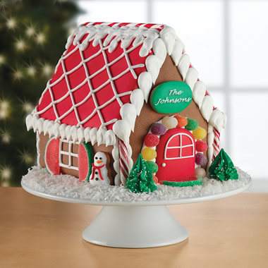 The Personalized Gingerbread House