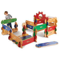 The Copenhagen Wooden Playhouse Building Set