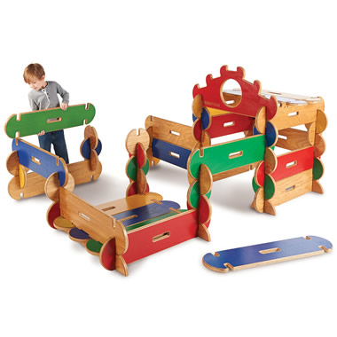 The Copenhagen Wooden Playhouse Building Set