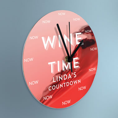 The Personalized Happy Hour Clock
