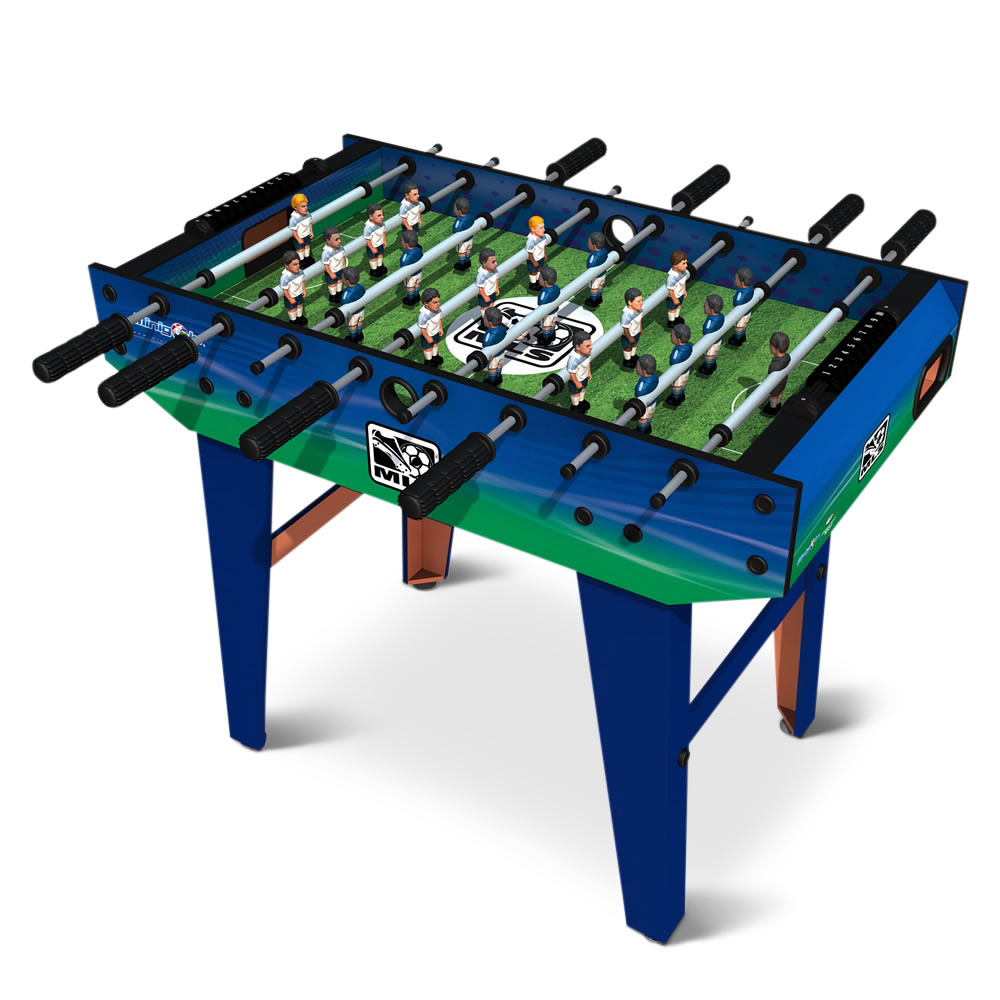 The Choose Your Iconic Teams Foosball Table