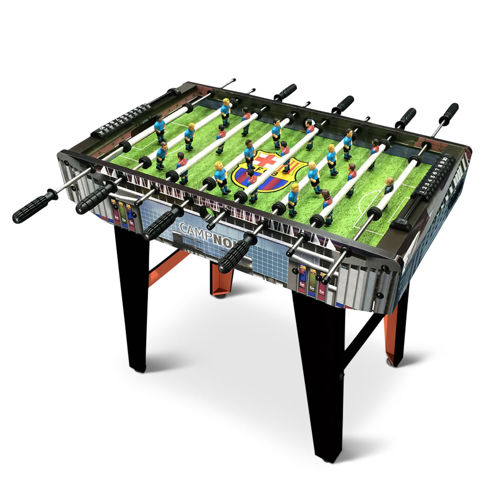 The Choose Your Iconic Teams Foosball Table Hammacher Schlemmer - Where to buy foosball table