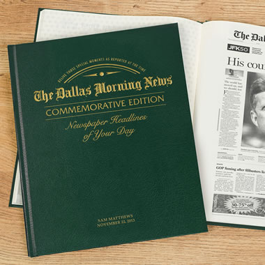 The Dallas Morning News Remember When Personalized Book
