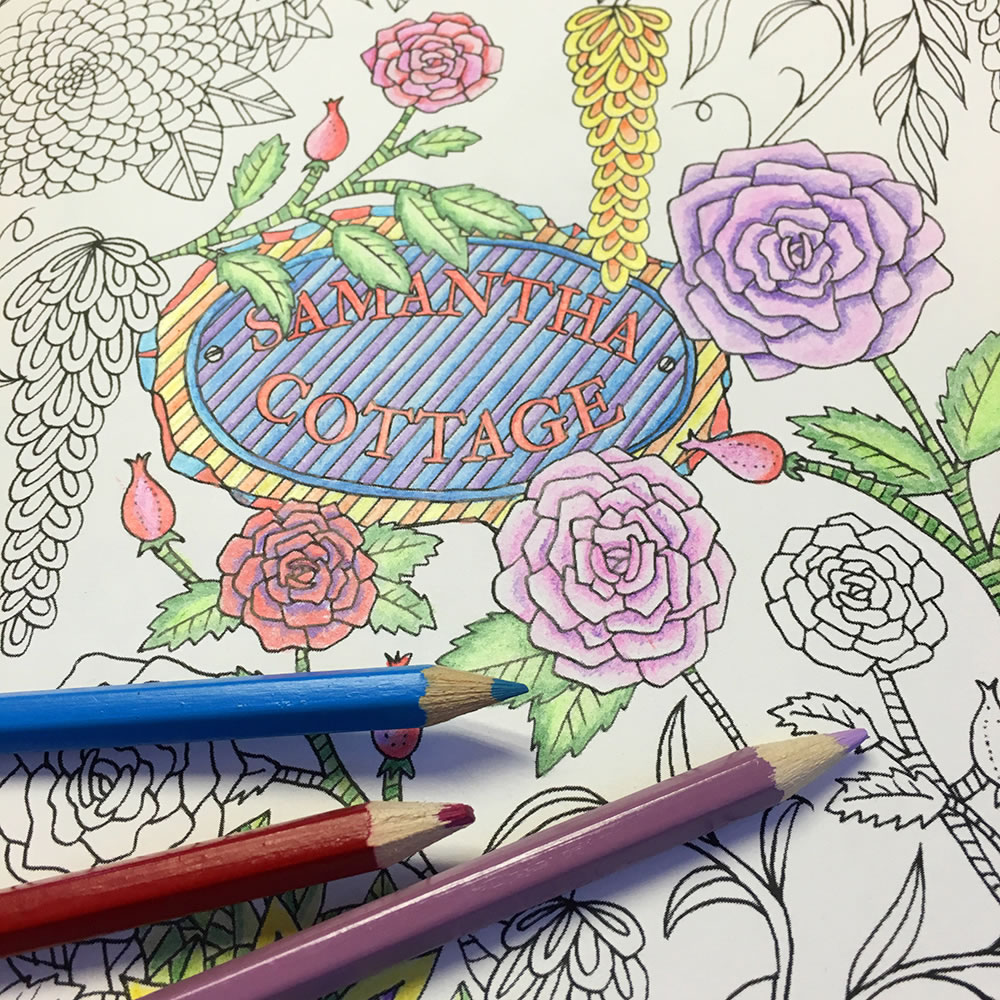 The Personalized Art Therapy Coloring Book