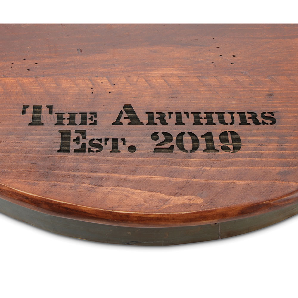 The Oenophiles Personalized Lazy Susan Hammacher Schlemmer