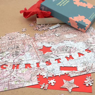 The Personalized Merry Christmas Puzzle