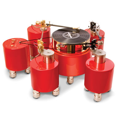 The Swiss Engineered Quad Calibrated Turntable