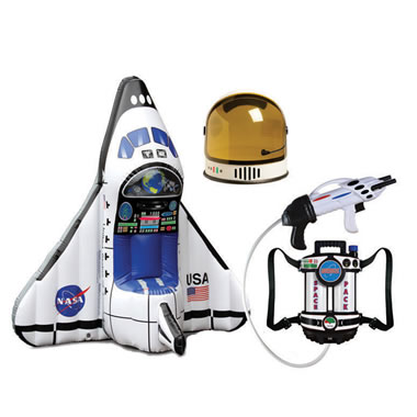 The Aspiring Astronaut's Space Shuttle Play Set - Full