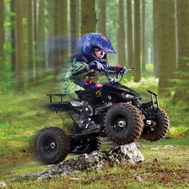 The Child?s Off Roading ATV