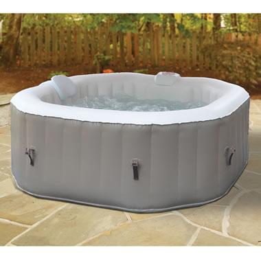 The Three Minute Inflatable Heated Whirlpool Spa